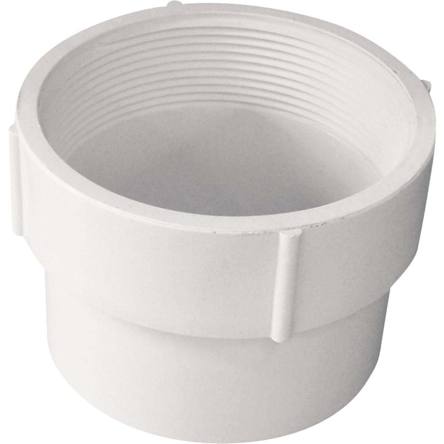 IPEX 4 In. Female PVC Sewer and Drain Adapter Image 1