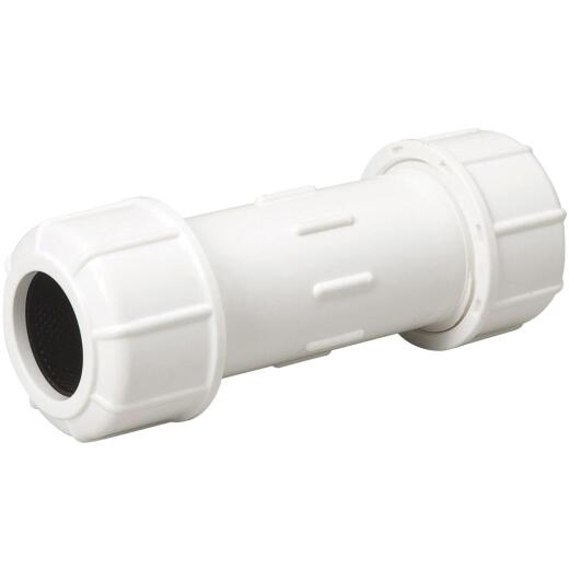 B & K 1-1/2 In. X 7 In. Compression PVC Coupling