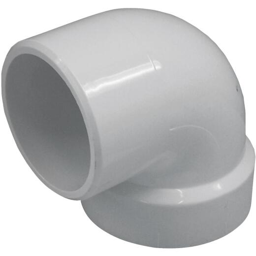 Charlotte Pipe 2 In. 90D PVC Vent Street Elbow
