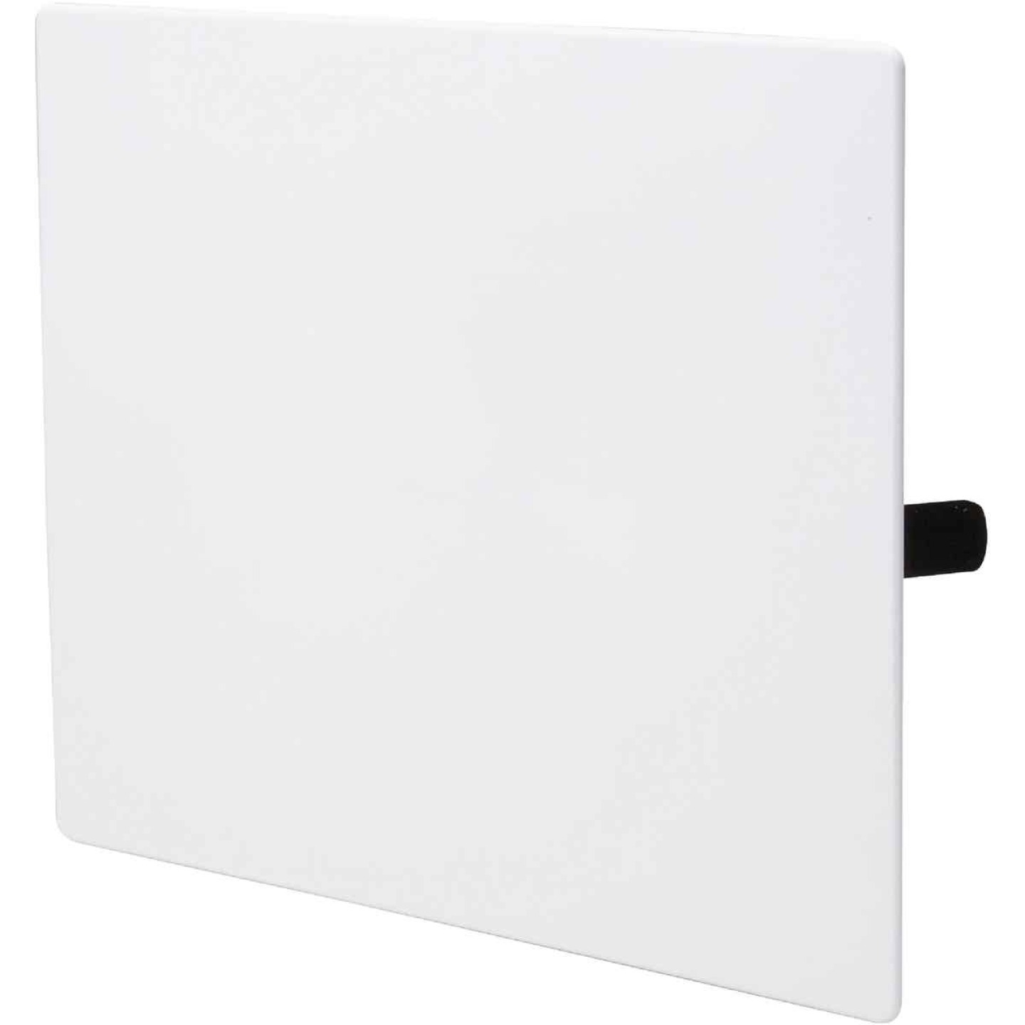 B&K 10 In. x 10 In. White Plastic Wall Access Panel Image 1