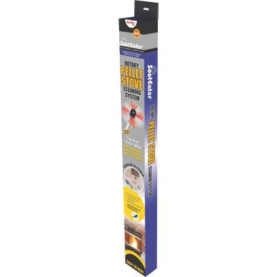 SootEater Rotary Whip Pellet Stove Pipe Cleaning System