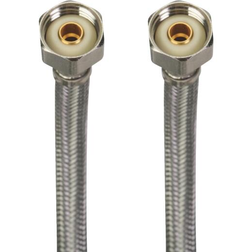 Fluidmaster 36 In. LFits All X Stainless Steel Faucet Connector