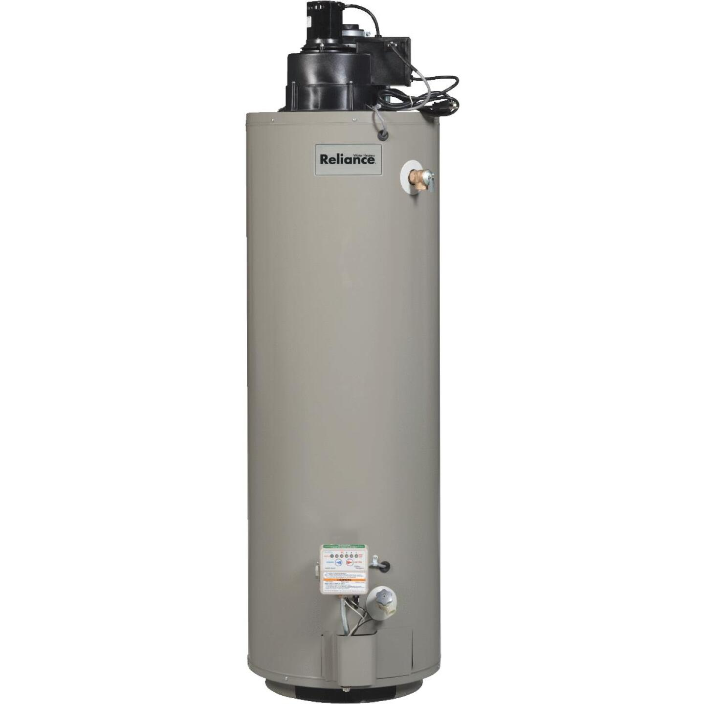 Reliance 40 Gal. Tall 6yr 50,000 BTU Liquid Propane (LP) Gas Water Heater with Power Vent Image 1