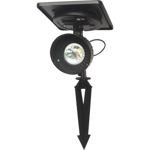Gama Sonic Black 120 Lumens Aluminum Solar Path Light