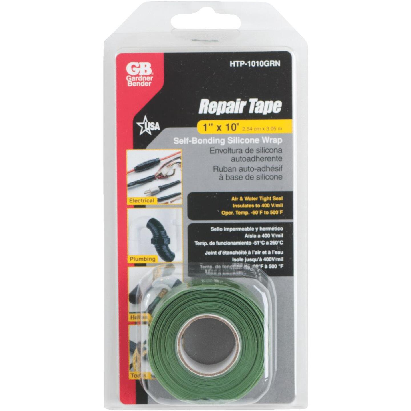 Gardner Bender Green 1 In. x 10 Ft. Self-Sealing Tape Image 1