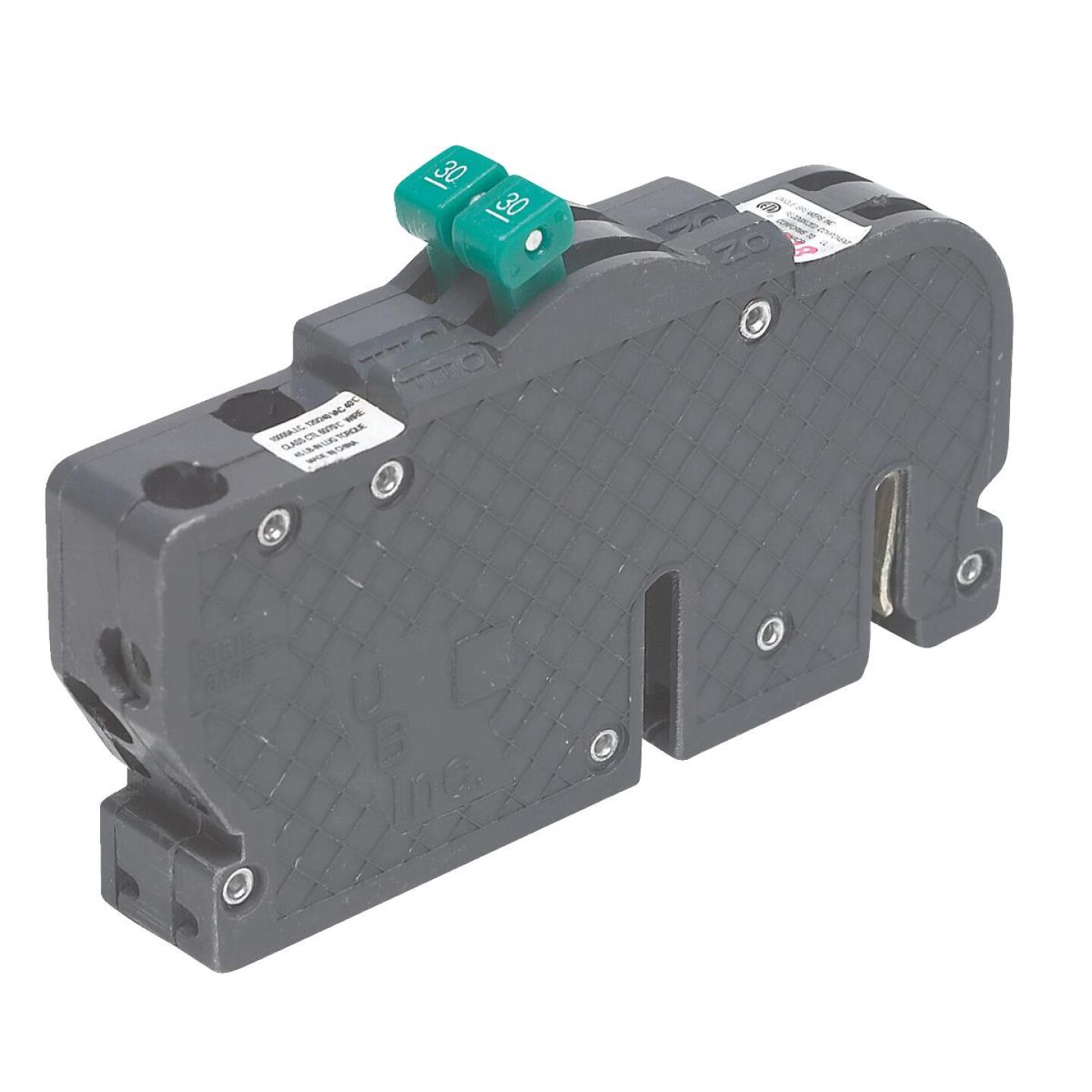 Connecticut Electric 50A/50A Twin Single-Pole Standard Trip Packaged Replacement Circuit Breaker For Zinsco Image 1