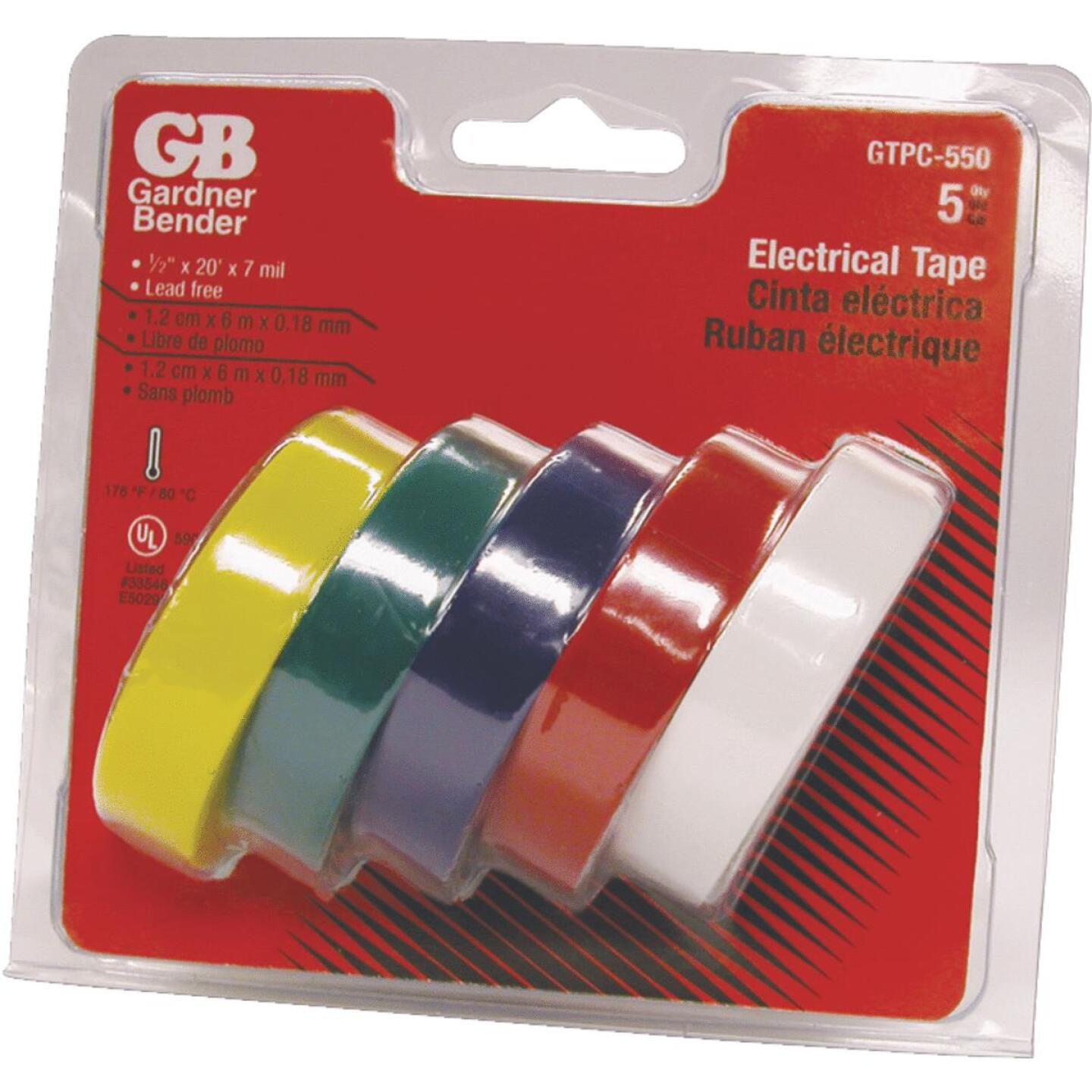 Gardner Bender General Purpose 1/2 In. x 20 Ft. Electrical Tape Image 1