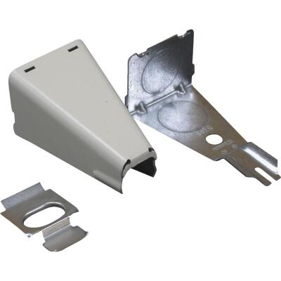 Wiremold Ivory 1/2 In. 90 Deg Conduit Connector