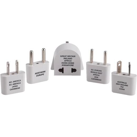 Travel Smart Foreign Adapter Plug Kit