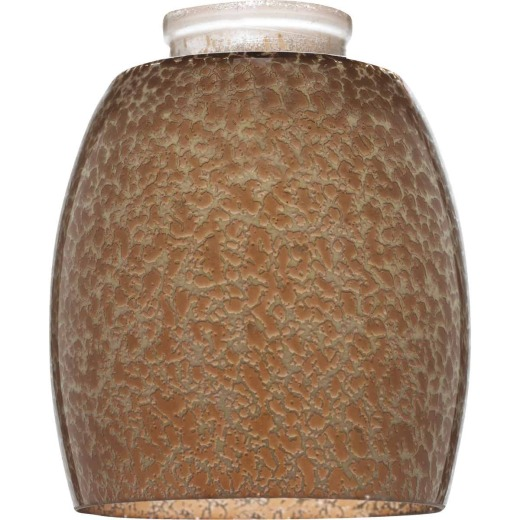 Westinghouse 5-3/8 In. Brown Giraffe Spot Glass Shade