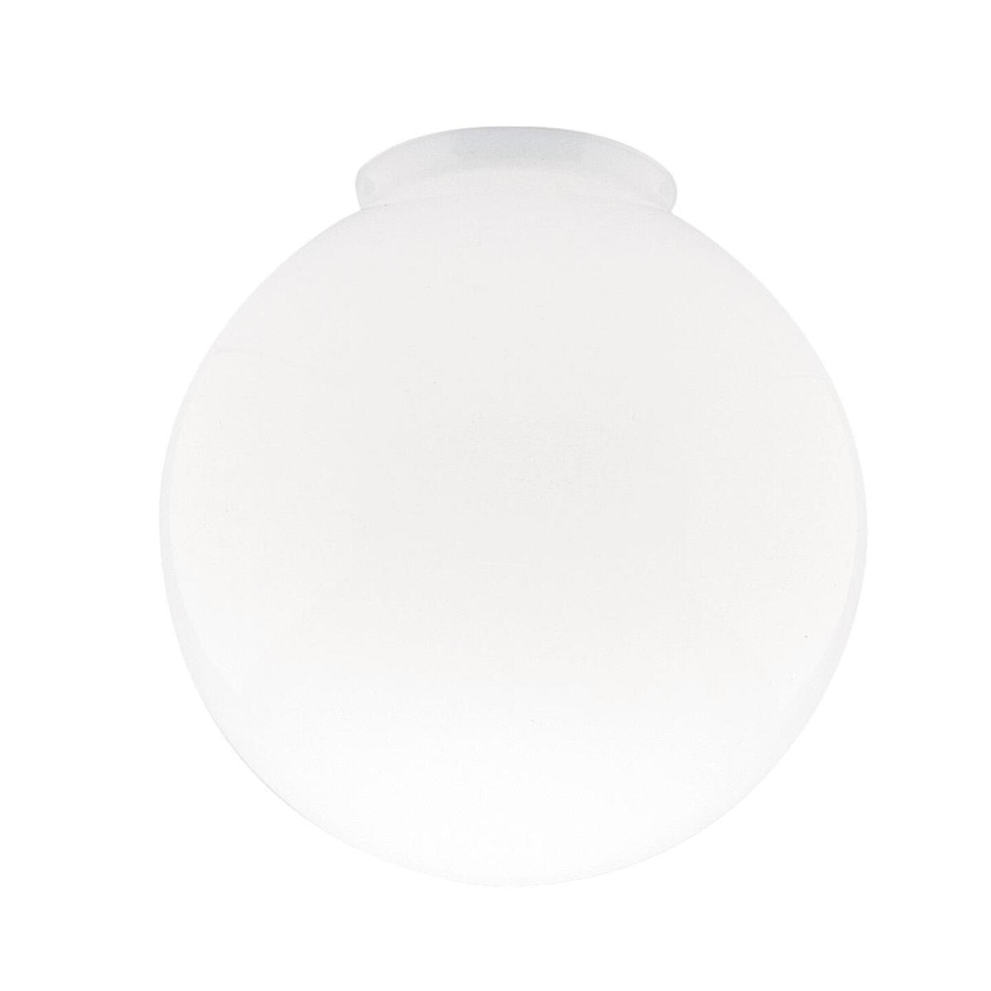 Westinghouse Gloss White 4 In. x 8 In. Ceiling Globe Shade Image 1