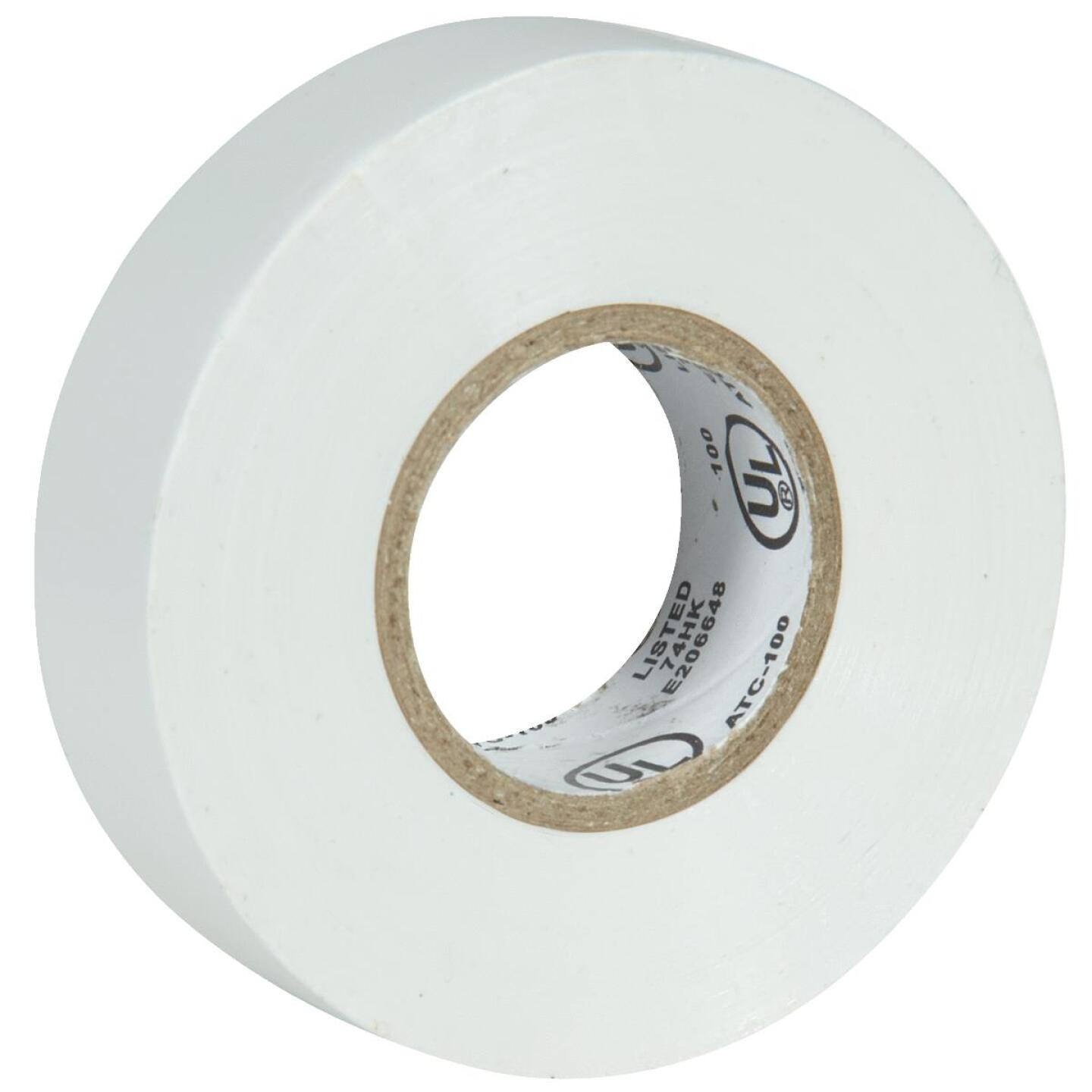 Do it General Purpose 3/4 In. x 60 Ft. White Electrical Tape Image 1