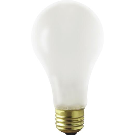 Satco 75W Frosted Medium Base A21 Shatterproof Incandescent Rough Service Light Bulb
