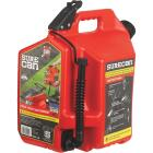 SureCan 5 Gal. Plastic Gasoline Fuel Can, Red Image 1