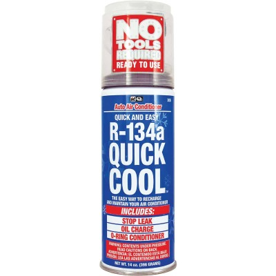 Quest Quick Cool 14 Oz. R-134a Refrigerant