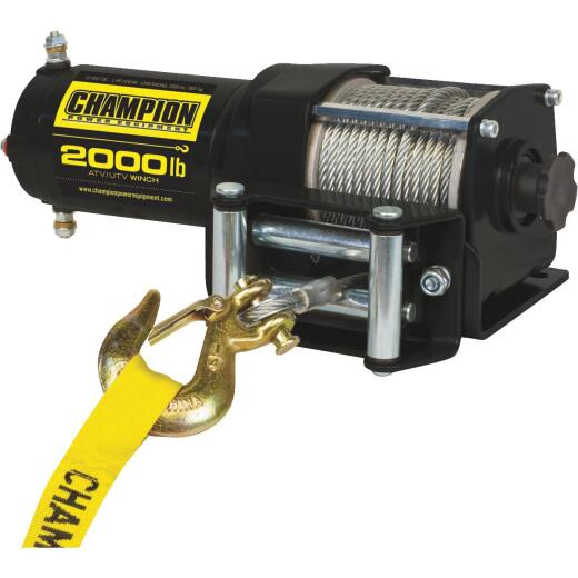 Champion 2000 Lb. ATV/UTV Winch Kit
