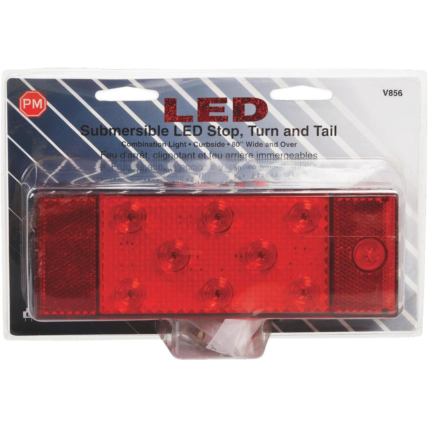Peterson Rectangle Red 7.9 In. Stop & Tail Combo Light Image 2