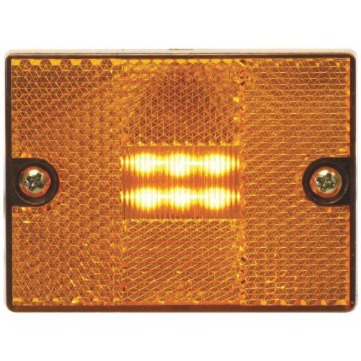 Peterson Square Amber Clearance Light