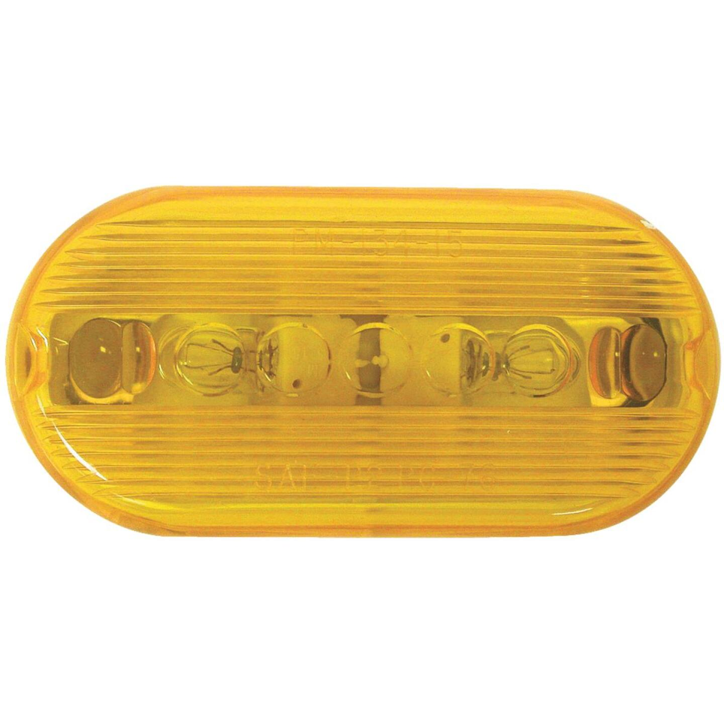 Peterson Oblong Amber 2 In. Clearance Light Image 1