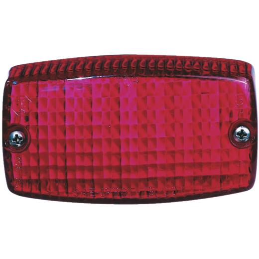 Peterson Rectangular Red 4-9/16 In. Stop & Tail Light