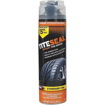 Tite-Seal 16 Oz. Aerosol Truck & SUV Tire Puncture Sealer and Inflator (with 8 In. Applicator Hose)