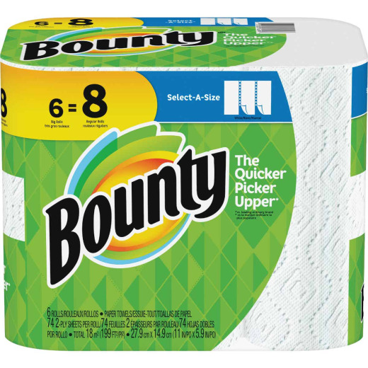 Bounty Select-A-Size Paper Towel (6 Roll)