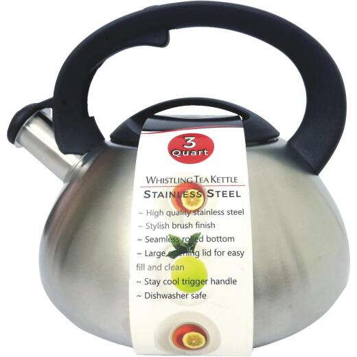 Culinary Edge 3 Qt. Whistling Tea Kettle