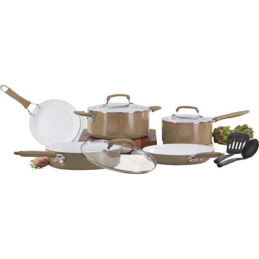 Wearever Pure Living Non-Stick Ceramic Cookware Set (10-Piece)