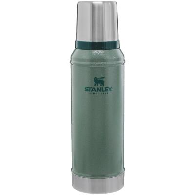 Stanley 1 Qt. Green Stainless Steel Insulated Vacuum Bottle