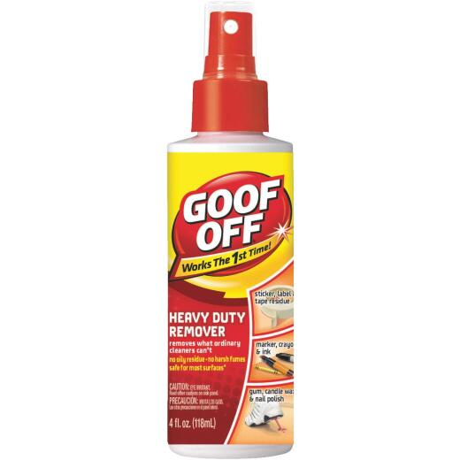 Goof Off 4oz Spray Pump Heavy Duty All Purpose Remover