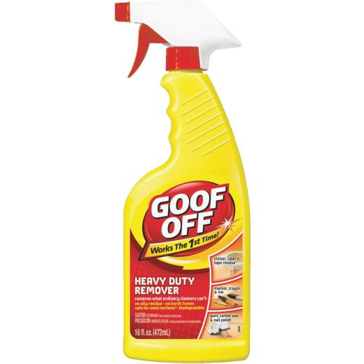 Goof Off 16oz Trigger Spray Heavy Duty All Purpose Remover