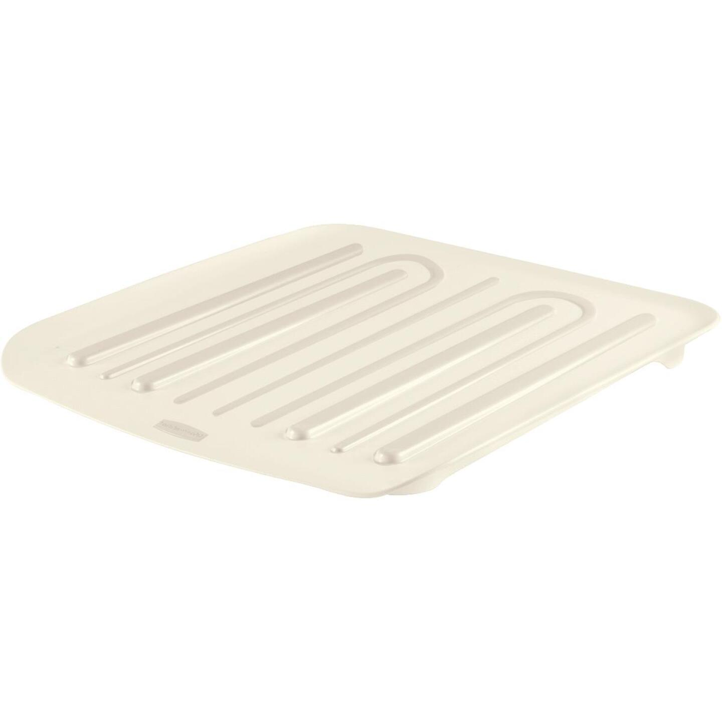 Rubbermaid 14.38 In. x 15.38 In. Bisque Sloped Drainer Tray Image 3