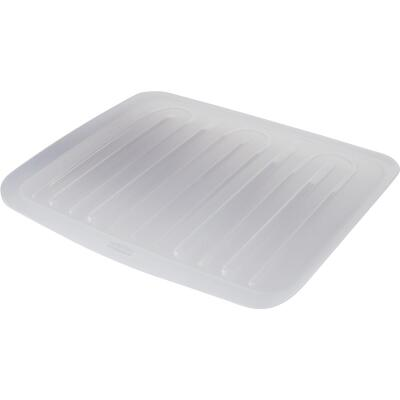 Rubbermaid 14.7 In. x 18 In. Clear Sloped Drainer Tray