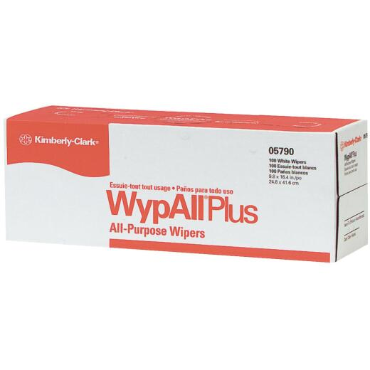 Kimberly Clark Wypall L40 White Wiper Hand Towel In Pop-Up Box (9 Count)