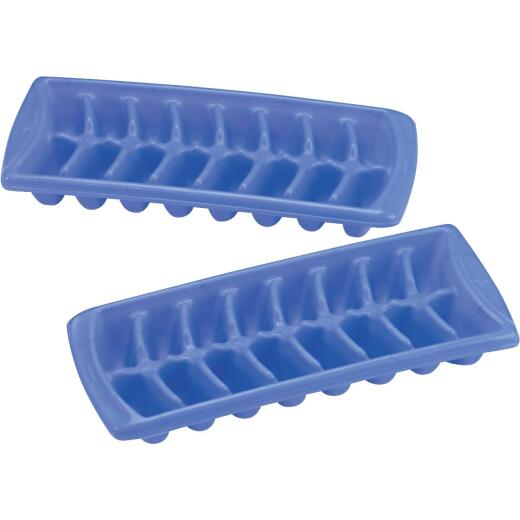 Rubbermaid Periwinkle Ice Cube Tray (2 Count)