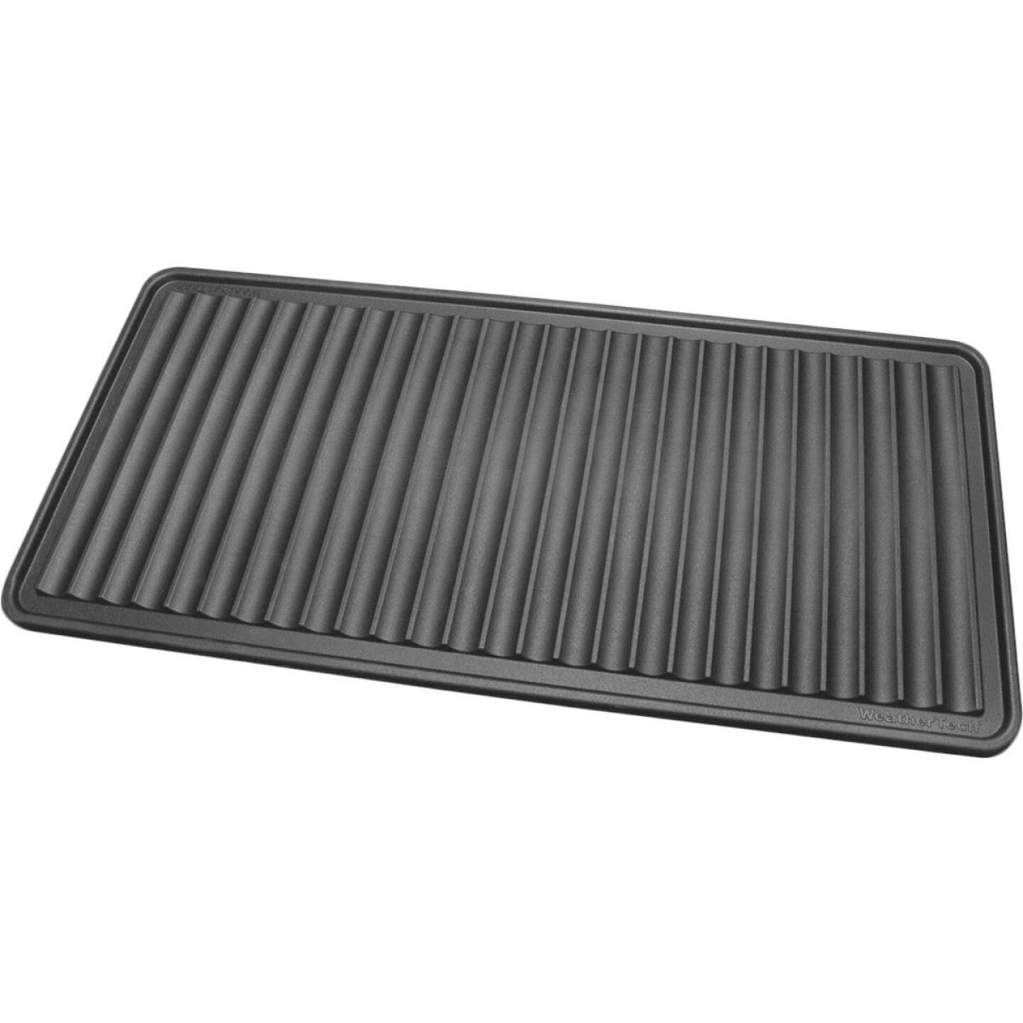 WeatherTech 16 In. x 36 In. Black Boot Tray Image 1