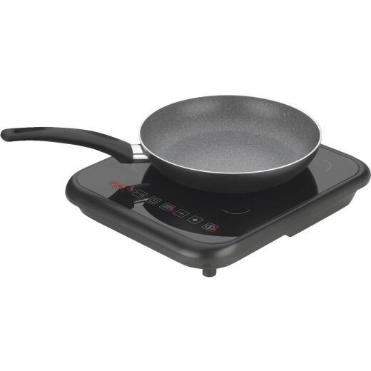 Fagor 2X Black Non-Stick Aluminum Induction Cookware Set (2-Piece)