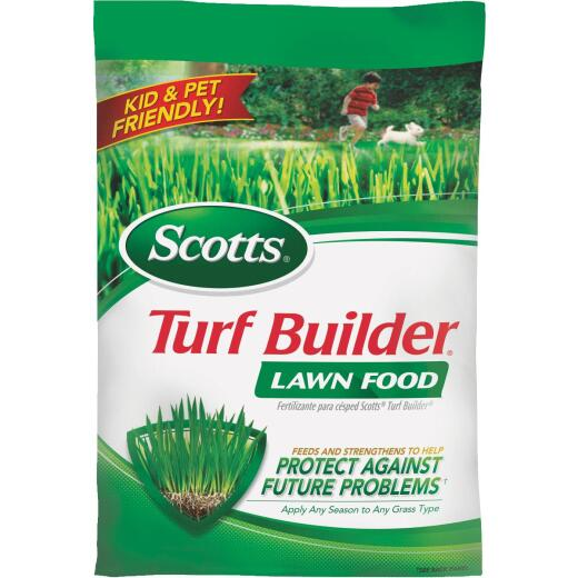 Scotts Turf Builder 37.5 Lb. 15,000 Sq. Ft. 32-0-4 Lawn Fertilizer