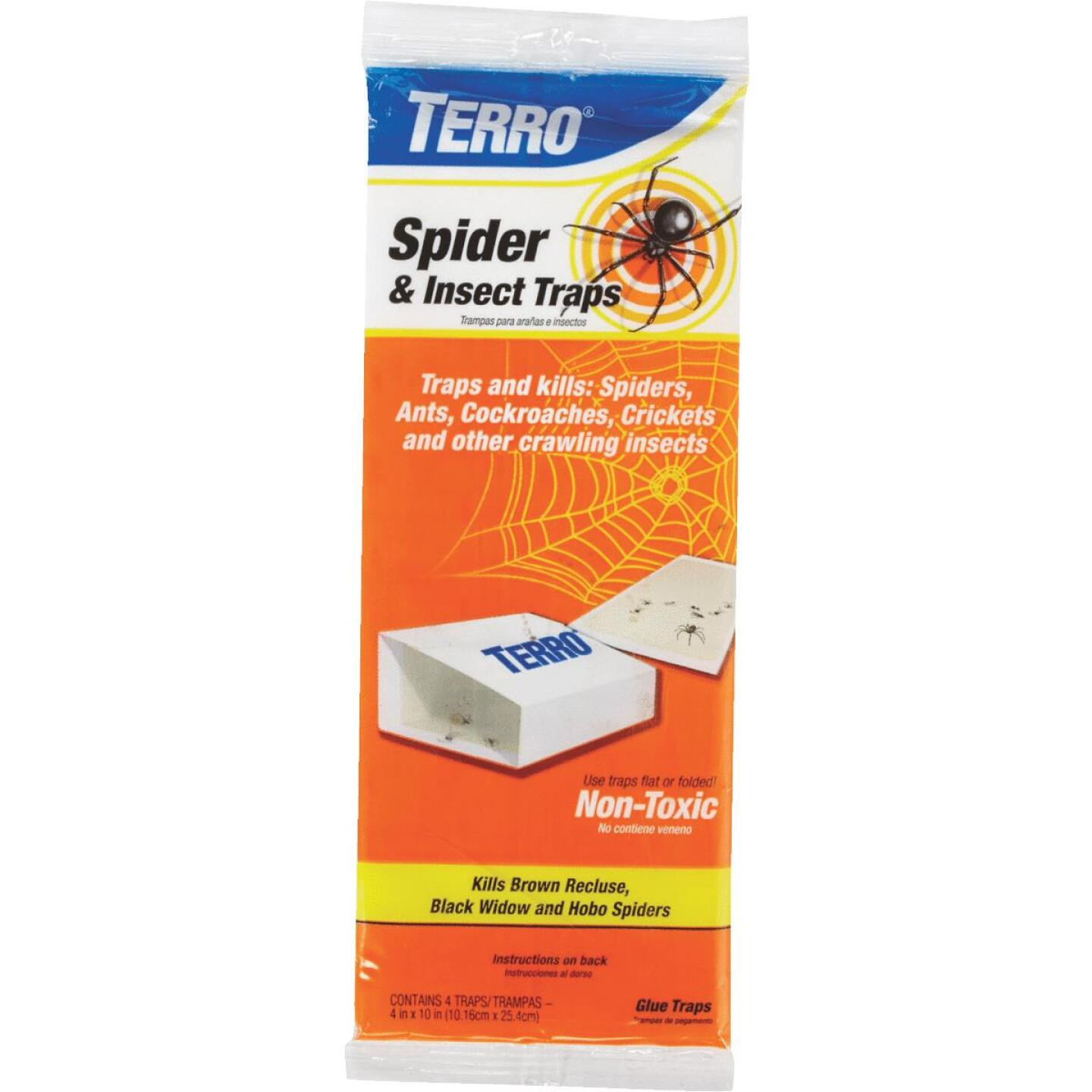 Terro Indoor Glue Insect & Spider Trap (4-Pack) Image 1