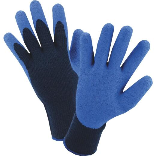 West Chester Men's Medium Latex Coated Polyester Winter Glove
