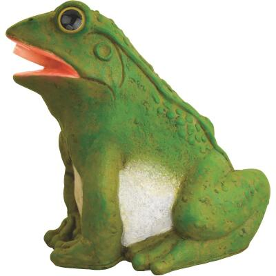 PondMaster 5.1 In. W. x 6.5 In. H. x 8.6 In. L. Resin Fountain Frog Spitter