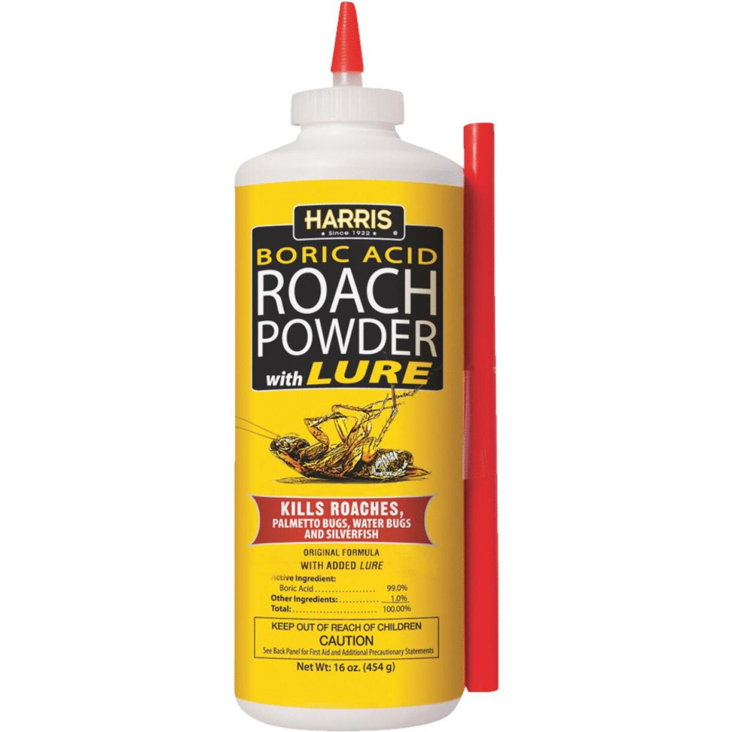 Harris 16 Oz. Ready To Use Powder Boric Acid Roach Killer with Applicator Image 1