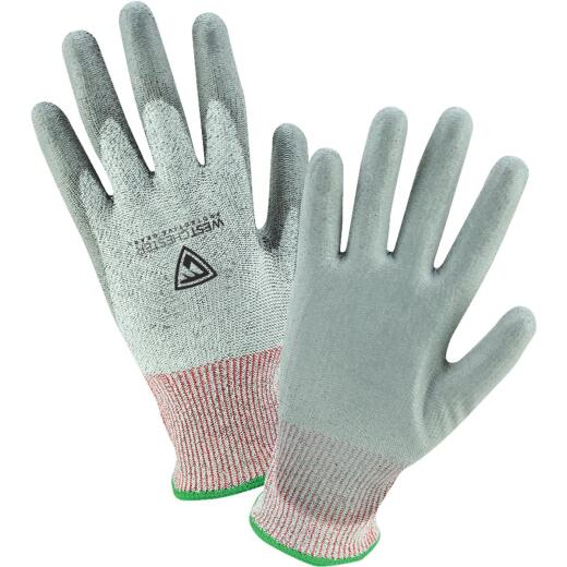 West Chester Men's Large Cut Resistant Polyurethane Coated Glove