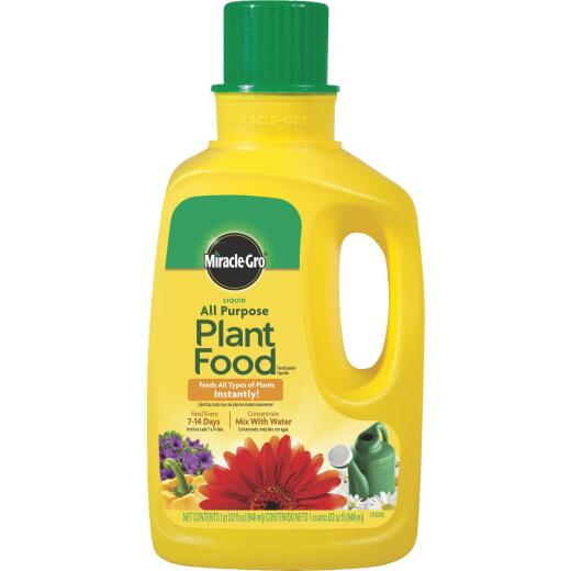 Miracle-Gro 32 Oz. 12-4-8 Concentrate Liquid Plant Food