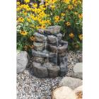 Best Garden 17 In. W. x 20 In. H. x 16 In. L. Resin Landscape Rock Fountain Image 4