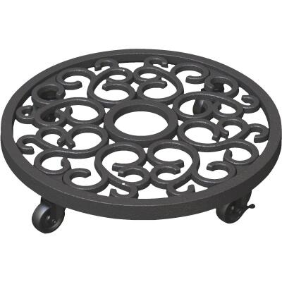 Panacea 300 Lb. Capacity 12 In. Cast Iron Plant Caddy