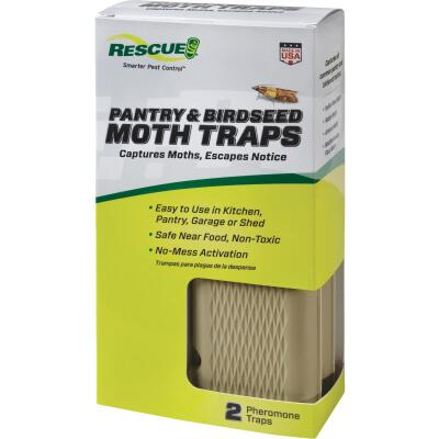 Rescue Glue Pantry & Birdseed Moth Trap (2-Pack)