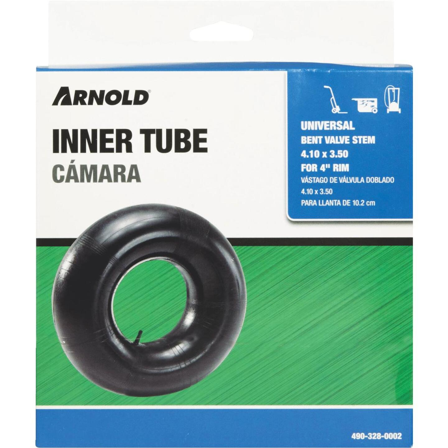 Arnold 410/350 x 4 In. Off-Road Replacement Inner Tube Image 2