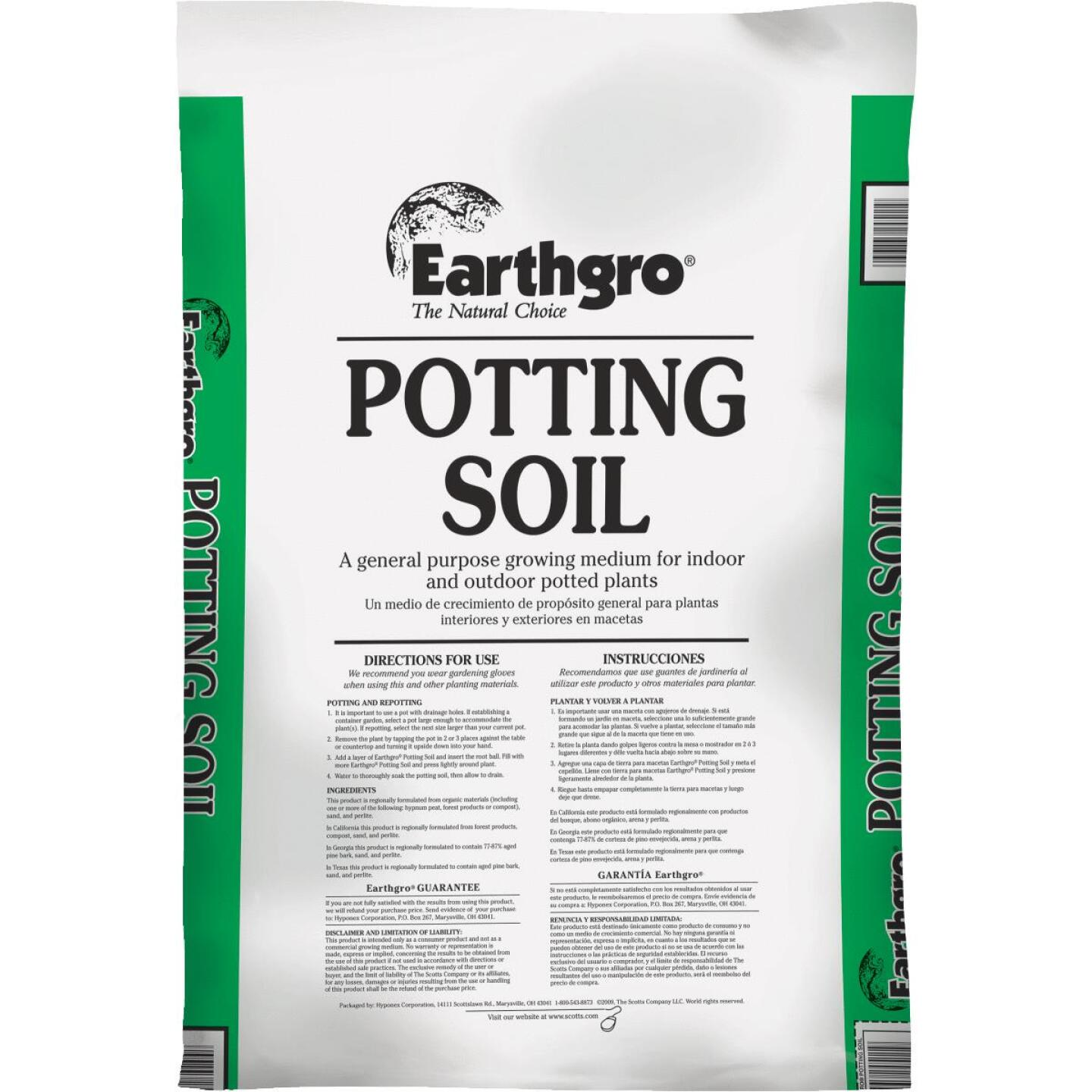 Earthgro 10 Qt. All Purpose Indoor & Outdoor Potting Soil Image 1