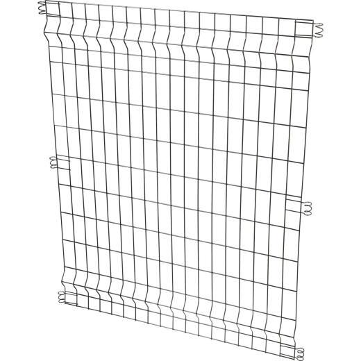 Best Garden 36 In. W. x 44 In. H. Black Powder-Coated Steel Multi Purpose Fence Panel